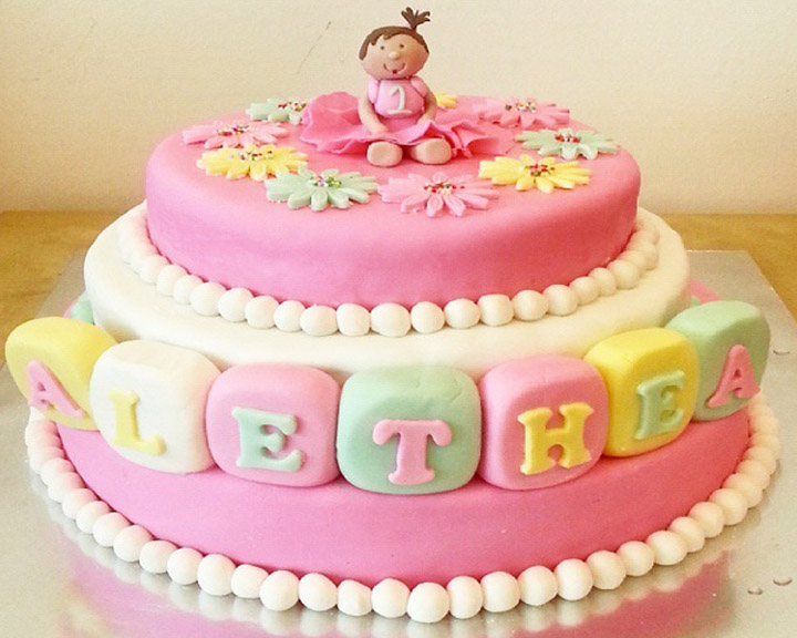 Admirable Baby 1St Birthday Cake Abiramy Vta Export Funny Birthday Cards Online Sheoxdamsfinfo